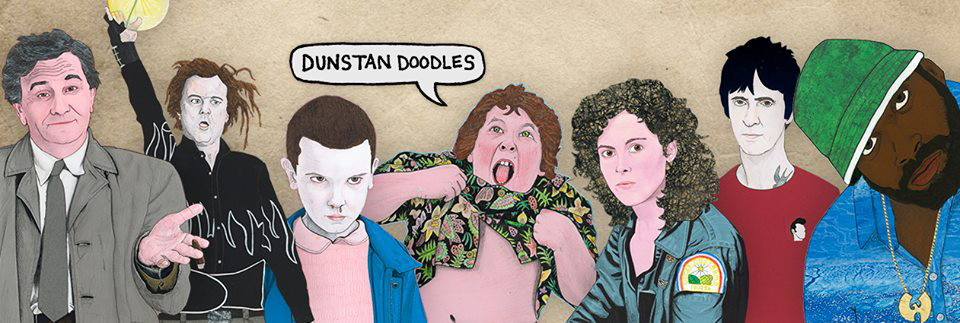PSYCH ICONS: An Exhibition by DUNSTAN DOODLES Foundation Coffee House, Manchester – Thursday 10th May