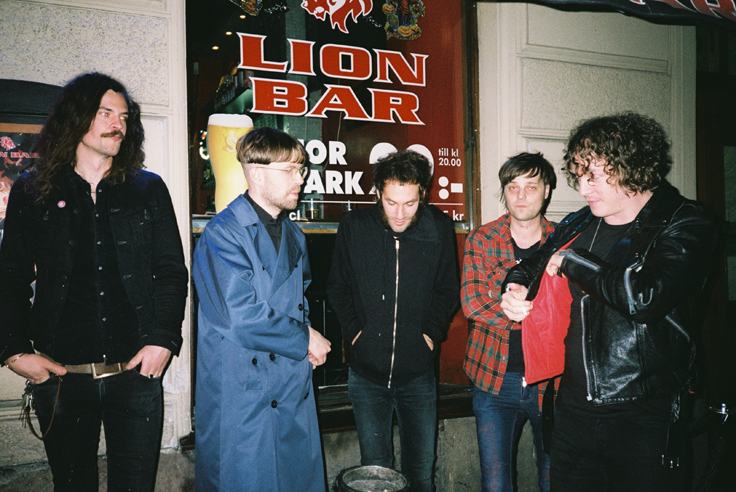 Stockholm based five-piece THE SCRAGS to release their second album 'Anything' in June