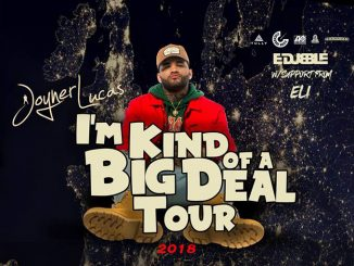 JOYNER LUCAS Announces Headline Show @ The Limelight 2, Belfast Thursday 23rd August
