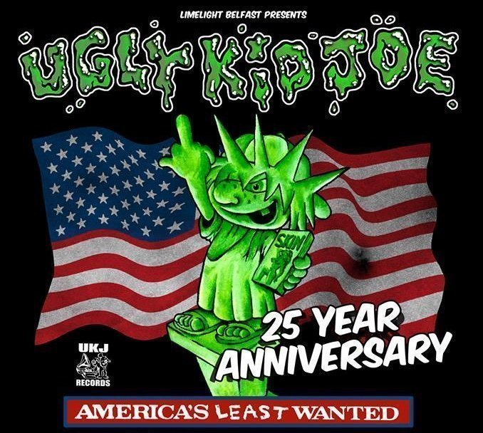 UGLY KID JOE 'America's Least Wanted' 25th Anniversary Tour Comes To Belfast's Limelight 1