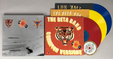 THE BETA BAND - Announce 20th Anniversary re-release of 'The Three EPs' The Beta Band