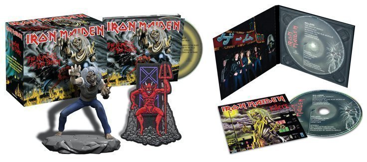 IRON MAIDEN'S acclaimed studio remasters get the CD digipack treatment