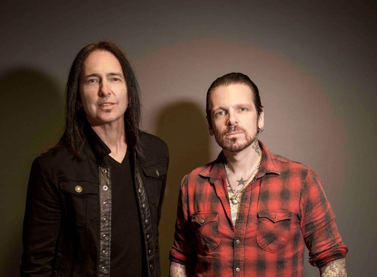 WARWICK JOHNSON (Ricky Warwick & Damon Johnson) to play The Limelight 2, Belfast Thursday 11th October 2018