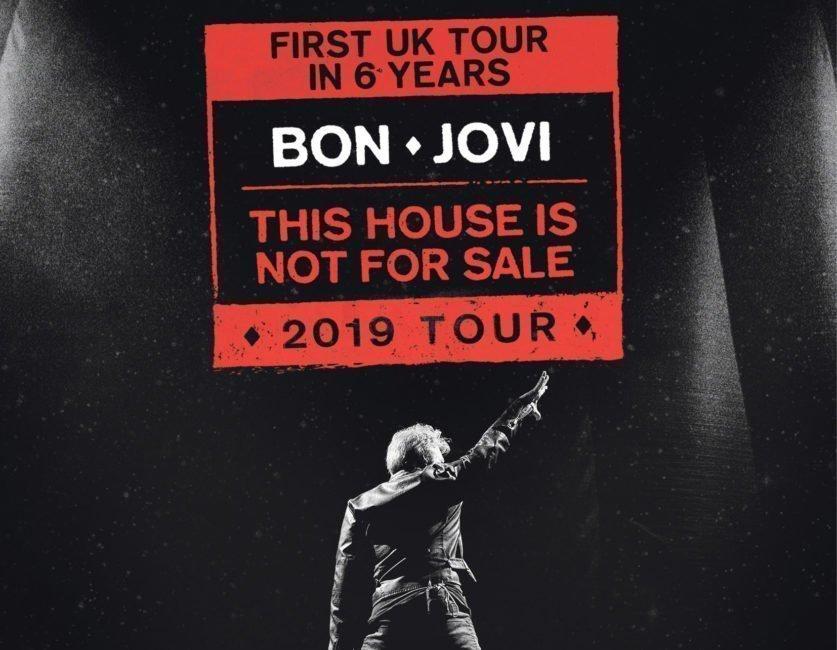 BON JOVI announce first U.K. tour in 6 years