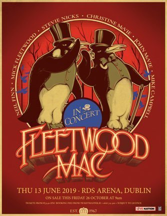 FLEETWOOD MAC Announce RDS ARENA Date for European Tour Christine McVie