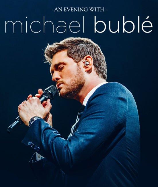 MICHAEL BUBLÉ announces arena dates for Dublin and Belfast