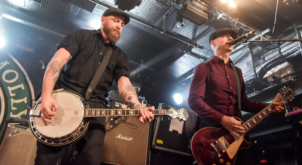 IN FOCUS// Flogging Molly at Limelight 1, Belfast, Northern Ireland Belfast