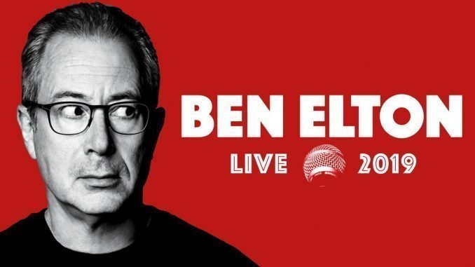 BEN ELTON Announces Ulster Hall, Belfast Show, Saturday 28th September 2019