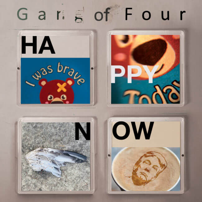 GANG OF FOUR to Release new album HAPPY NOW on March 29, 2019