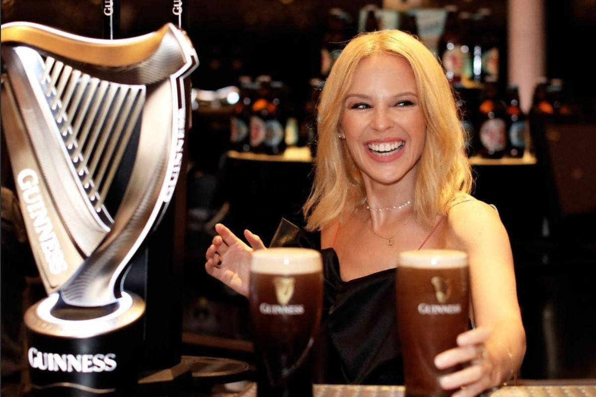 The Guinness is on KYLIE for Belfast Concert-goers