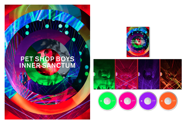 Pet Shop Boys announce the release on DVD, Blu-ray and CD of their breath-taking show 'Inner Sanctum' PET SHOP BOYS