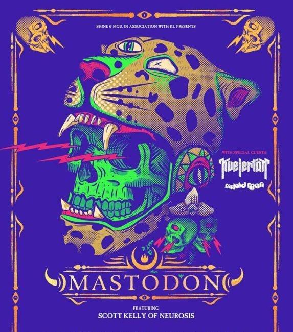 Grammy-Award-winning hard rock quartet MASTODON to play The Ulster Hall, Belfast on January 14th