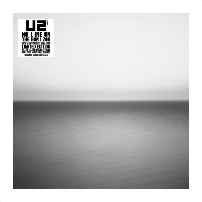 U2 Announce new vinyl reissue of No Line On The Horizon