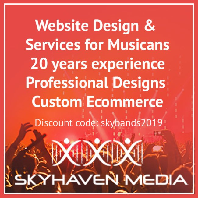 websites for artists by skyhaven media