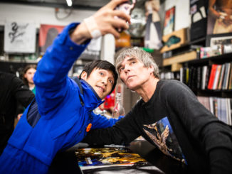 IAN BROWN Celebrates the release of new album 'Ripples' with in-store signings in Manchester and London Ripples