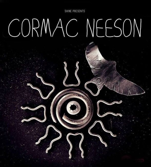 CORMAC NEESON announces headline Belfast show at The Black Box, Friday 24th May