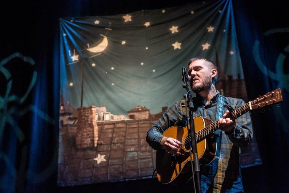 IN FOCUS// Brian Fallon at the Usher Hall, Edinburgh 1
