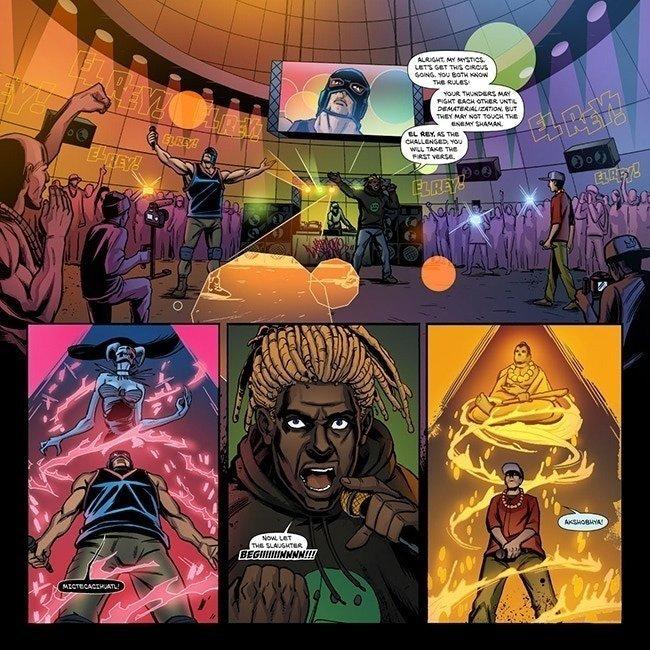 the Cloudscape Comics Society