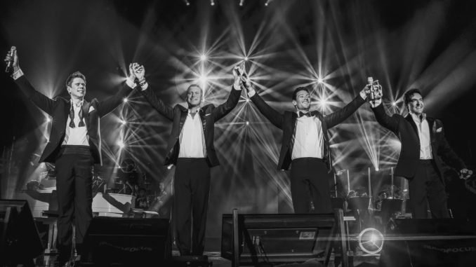 IL DIVO Announce Fully Seated Show at 3ARENA, Dublin this June 1