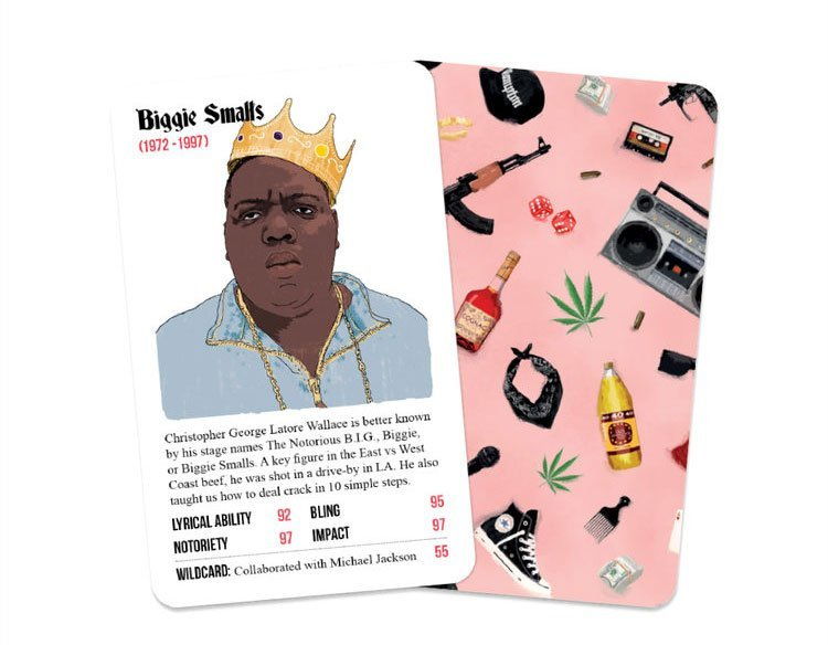 Rapper Stacks card games