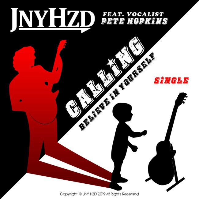 British Rock Guitarist and Composer JNYHZD Releases New single, 'Calling' - Listen Now