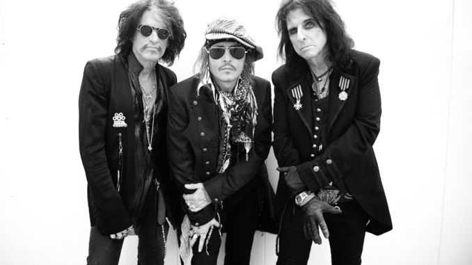 "THE HOLLYWOOD VAMPIRES - Return with New Album ""RISE"" out 21st June 2"