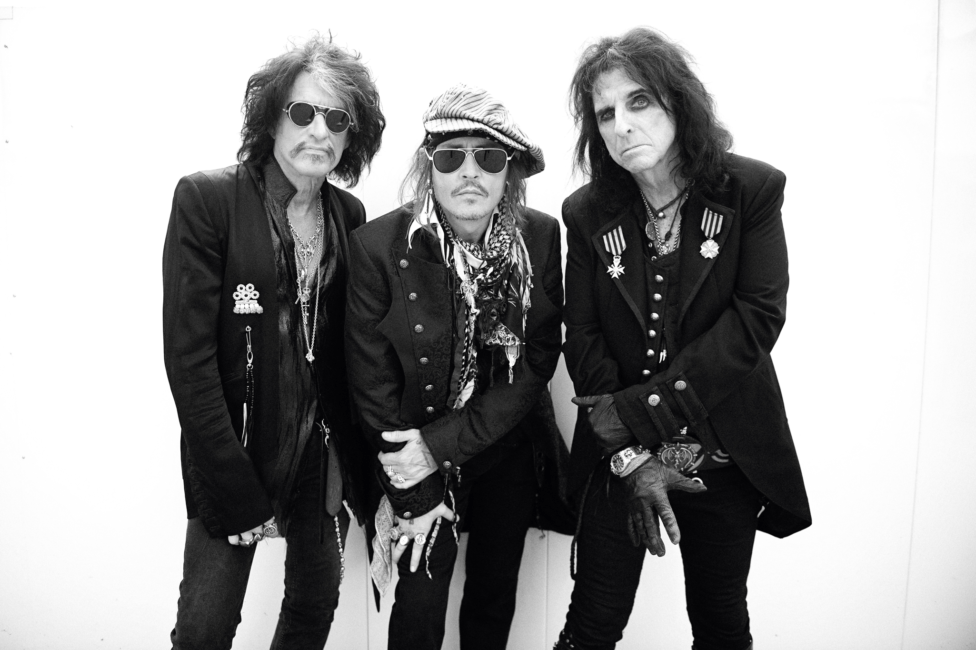 """THE HOLLYWOOD VAMPIRES - Return with New Album """"RISE"""" out 21st June 2"""