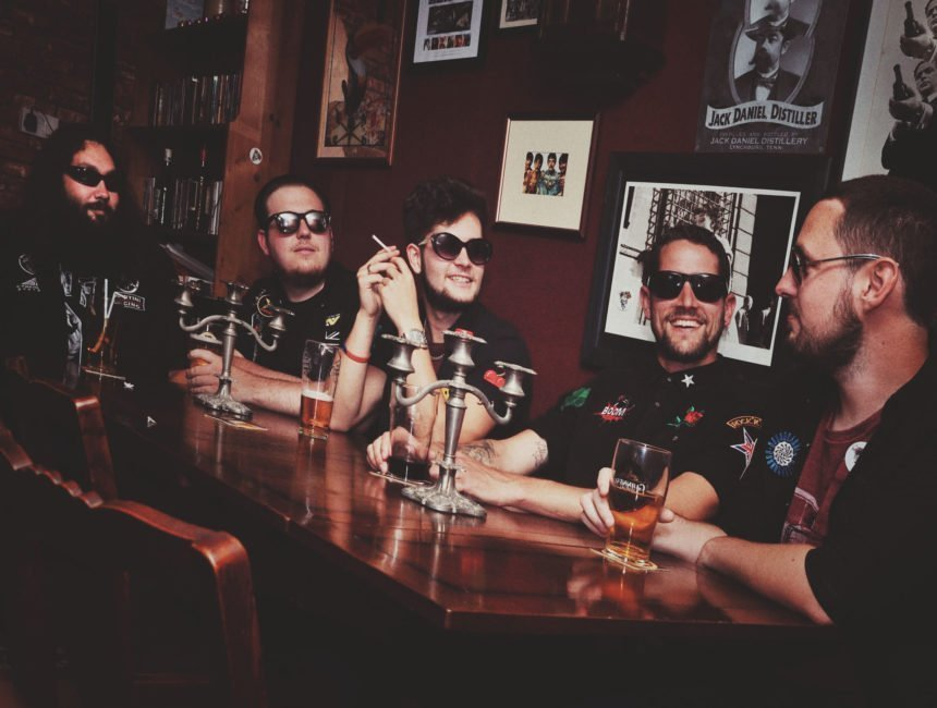 VIDEO PREMIERE: 40 Shillings on the Drum - 'Mean Streets (Born in the Same Gutter)' - Watch Now