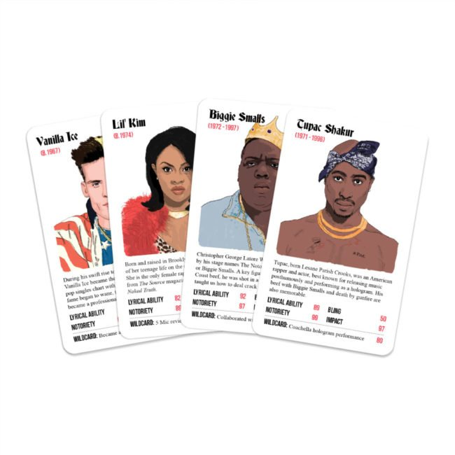 FEATURE: Intergenerational rappers delight with Rapper Stacks card games 1