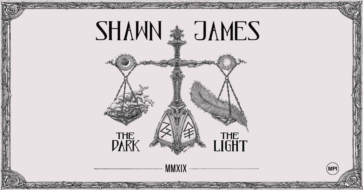 SHAWN JAMES 'The Dark & The Light Tour' Live at Voodoo, Belfast TONIGHT