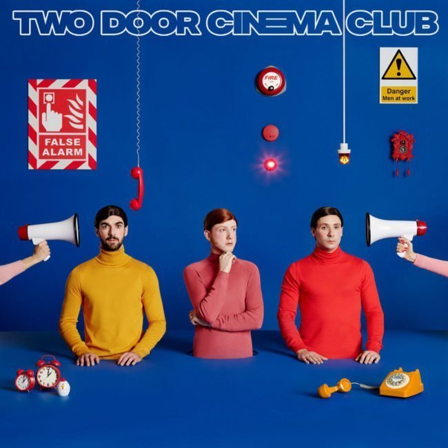 TWO DOOR CINEMA CLUB announce Belfast show at the TELEGRAPH BUILDING, Wednesday October 16th 2019