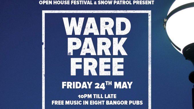SNOW PATROL and OPEN HOUSE FESTIVAL announce Ward Park FREE 1