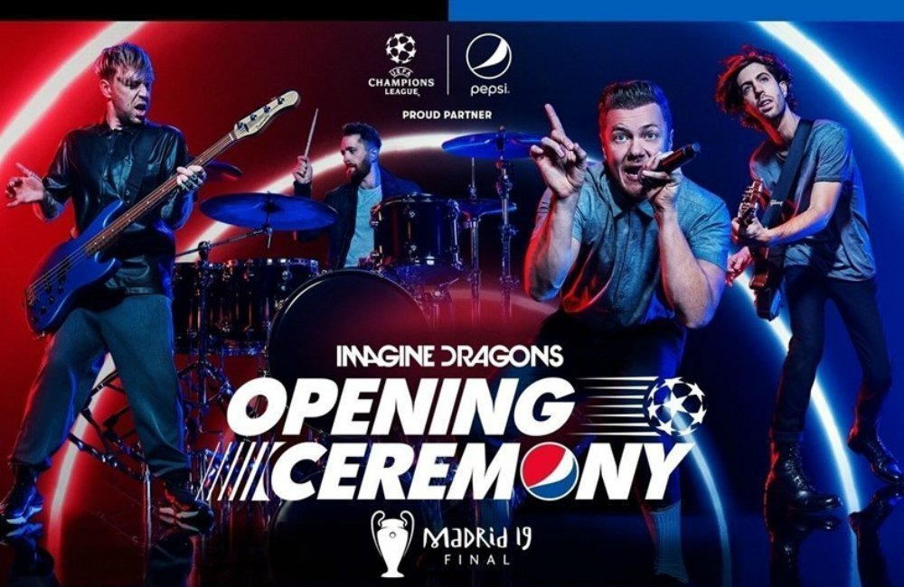 IMAGINE DRAGONS are to take a hiatus after performing live at the 2019 UEFA Champions League Final Opening Ceremony