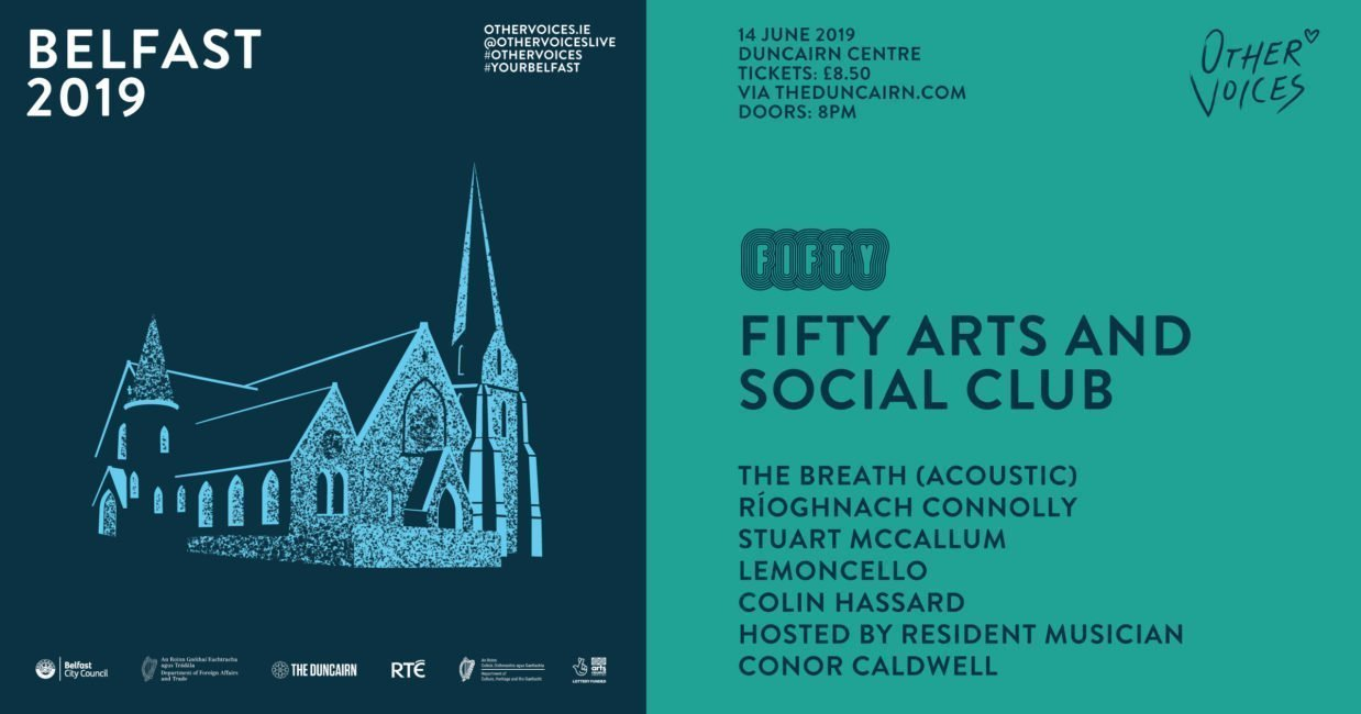 Further Events Announced for OTHER VOICES Belfast 1