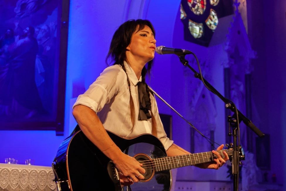 KT Tunstall at St Malachy's Church, Castlewellan