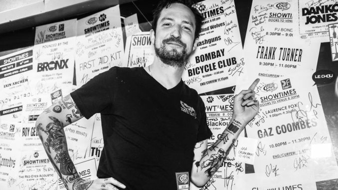 IN FOCUS// Frank Turner @ King Tut's Wah Wah Hut, Glasgow, Scotland