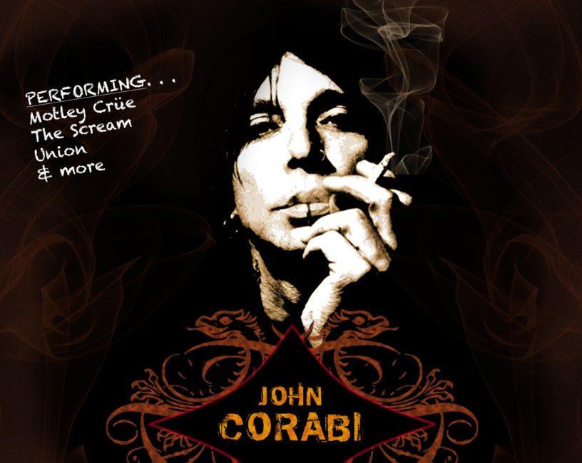 JOHN CORABI (The Dead Daisies, Ex-Motley Crue) announces Irish Acoustic Dates 1