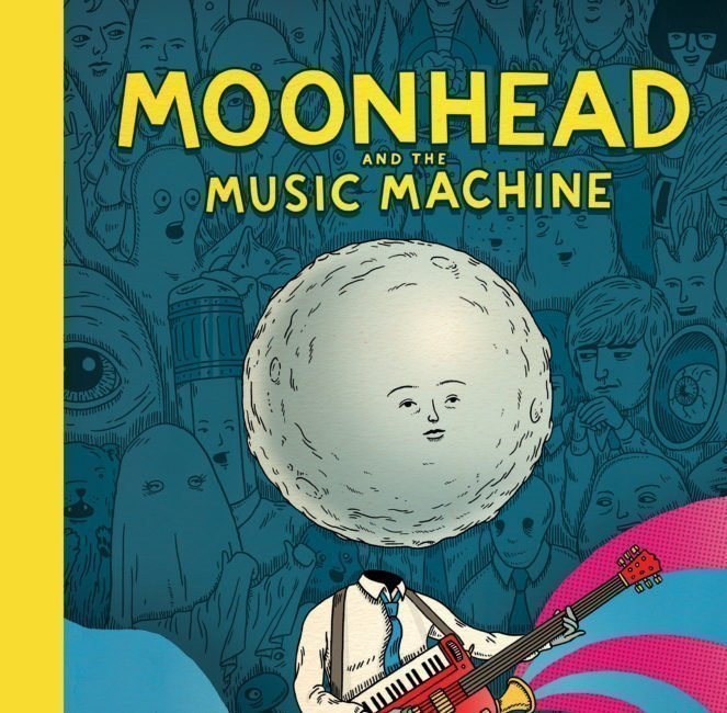 Moonhead and the Music Machine  By Andrew Rae 1