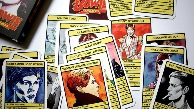 REVIEW: David Bowie - Trump Card Game 1