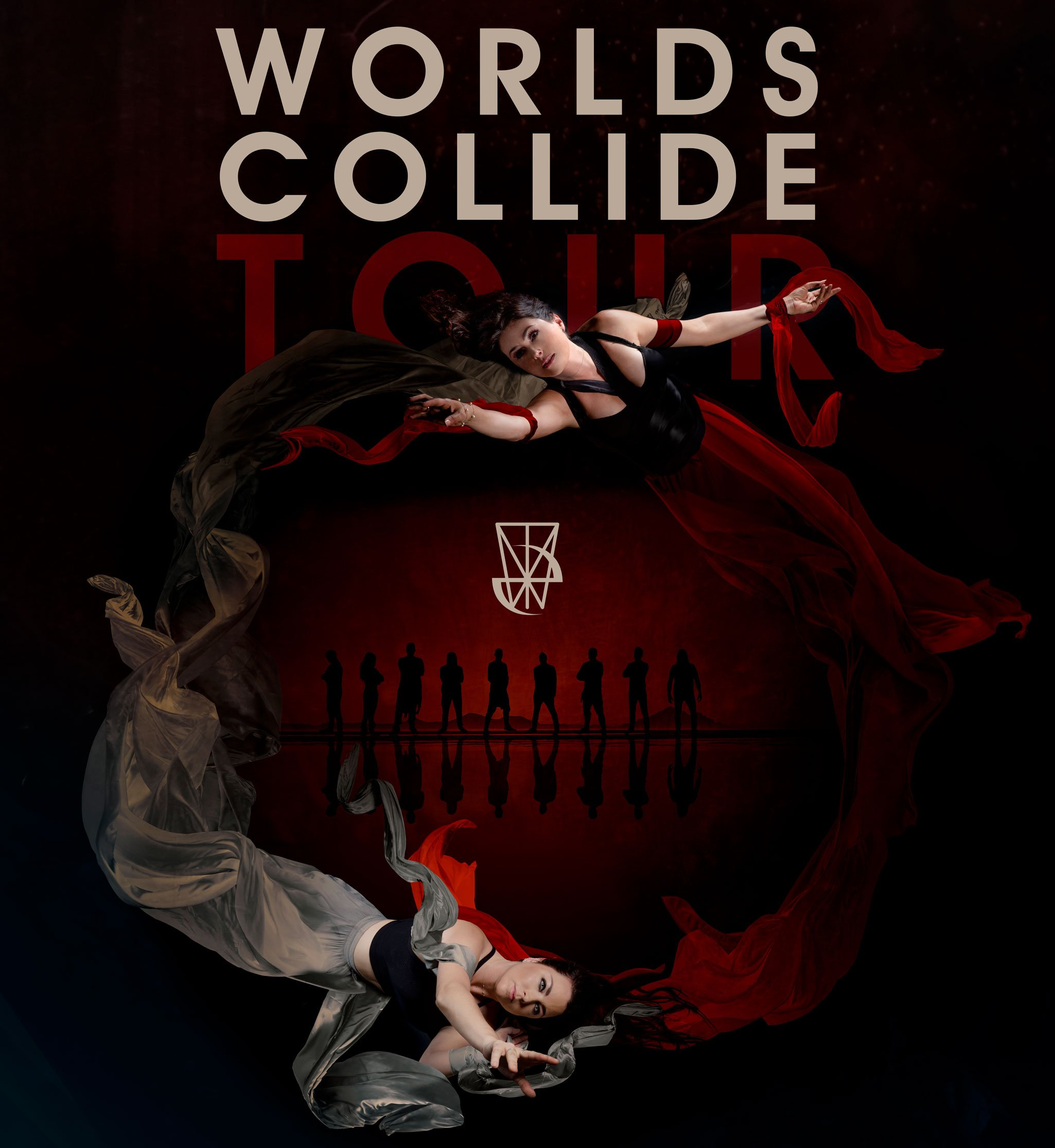 EVANESCENCE & WITHIN TEMPTATION have joined forces forWORLDS COLLIDE, a massive co-headline European tour 3