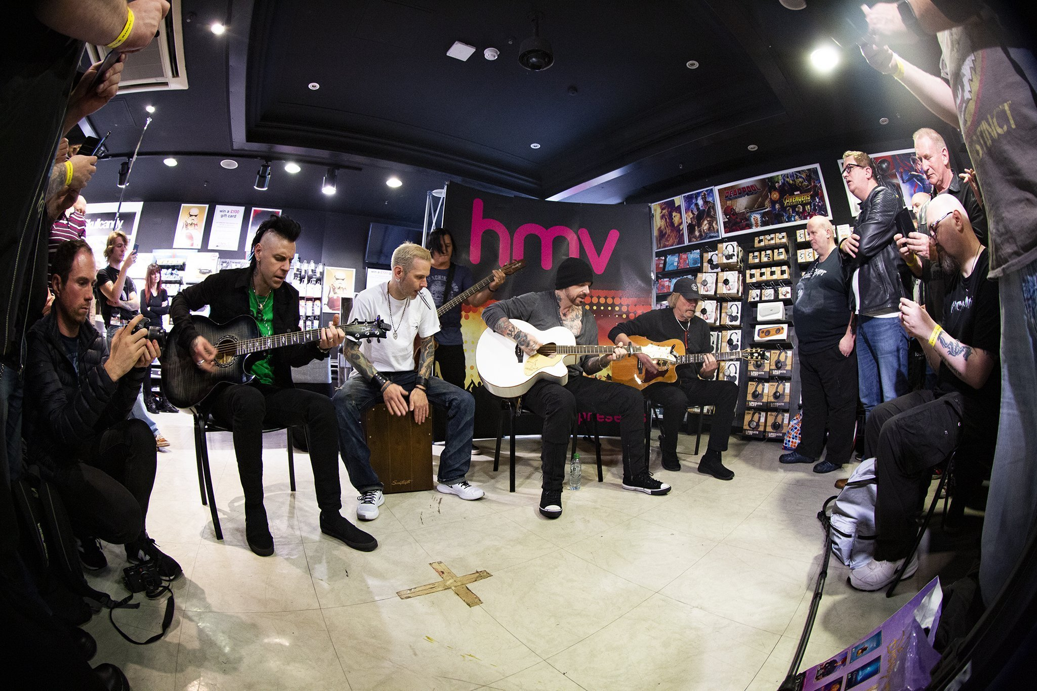 IN FOCUS// Black Star Riders - Live Acoustic Set and Signing - HMV Belfast Acoustic