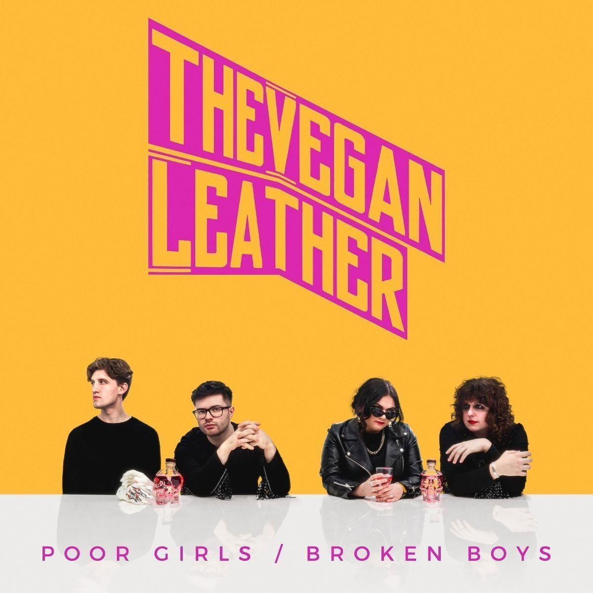 ALBUM REVIEW: The Vegan Leather - Poor Girls / Broken Boys