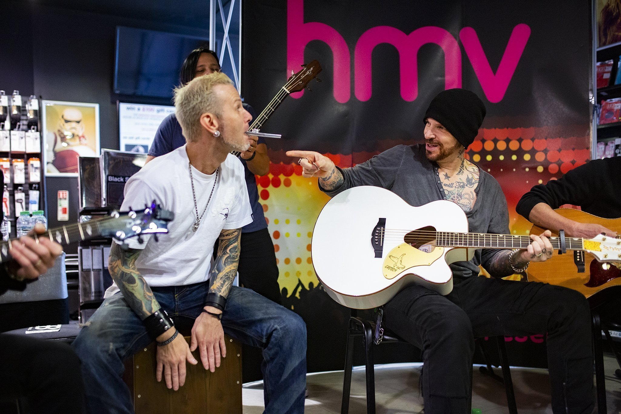 IN FOCUS// Black Star Riders - Live Acoustic Set and Signing - HMV Belfast 8