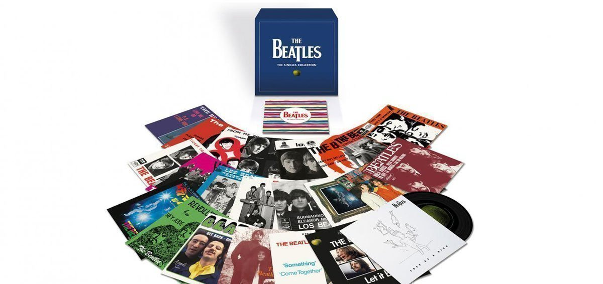 THE BEATLES Announce Limited Edition Collection of Remastered Seven-Inch Vinyl Singles
