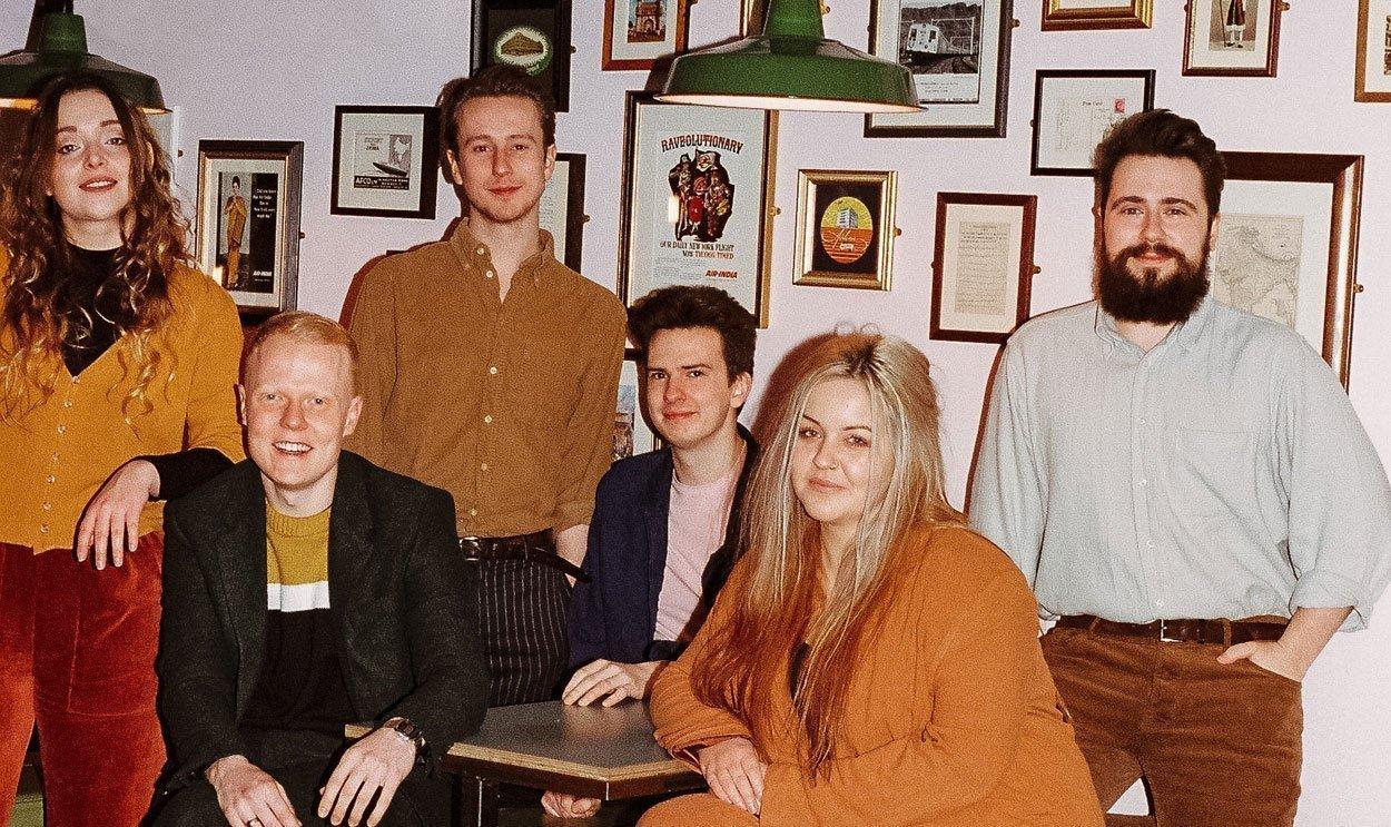 Leeds sextet TALKBOY release 'Over & Under' (EP) on 1st November