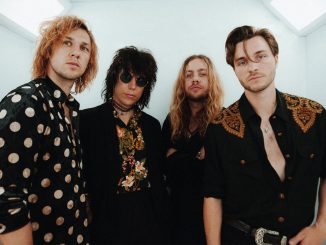 British glam rockers THE STRUTS share video for 'Tatler Magazine'