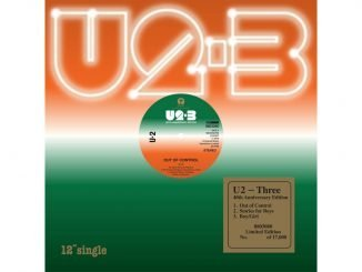 "U2 Reissue ""THREE"" for Black Friday Record Store Day 1"