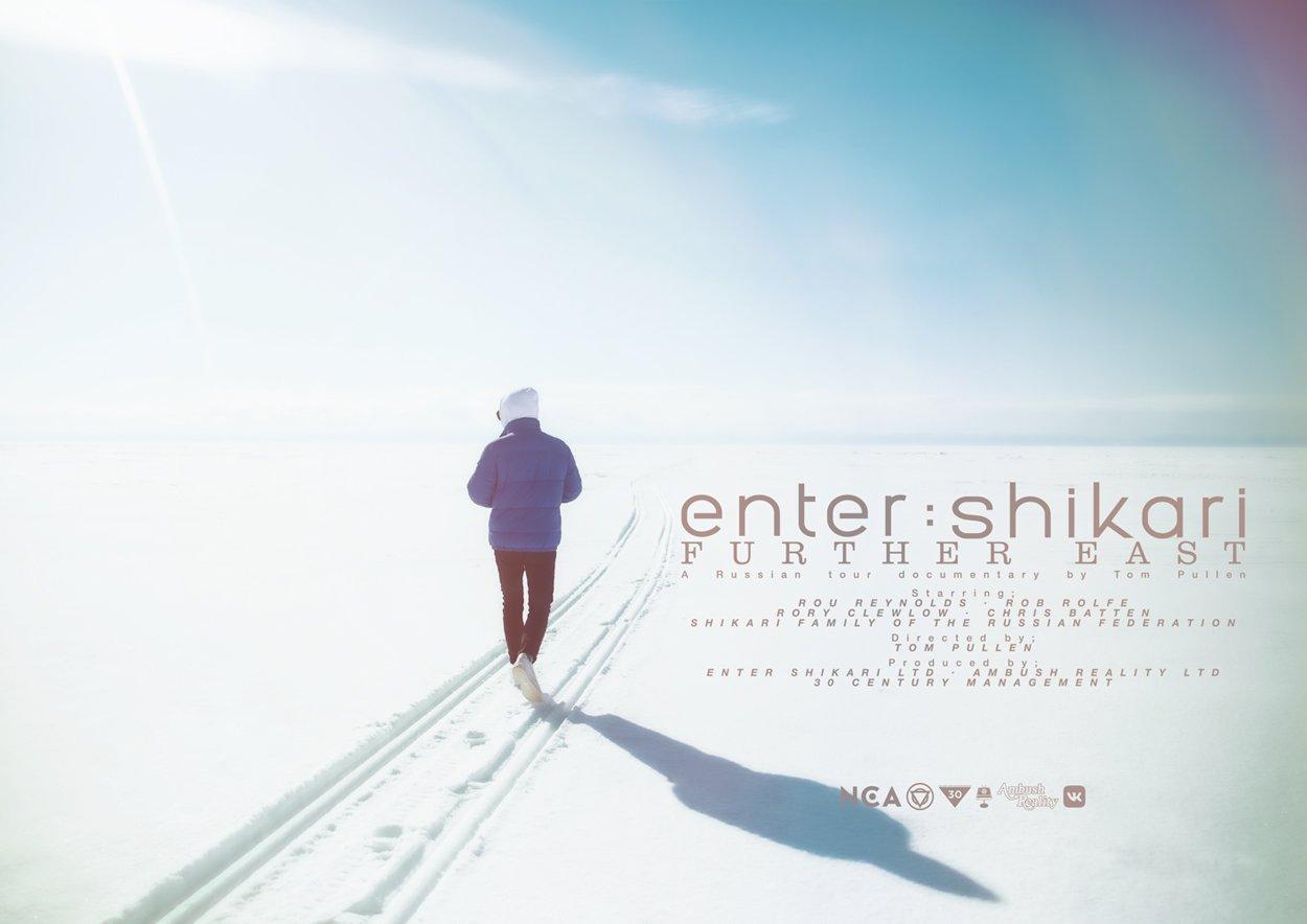 "ENTER SHIKARI release Russian Tour Documentary ""FURTHER EAST"""