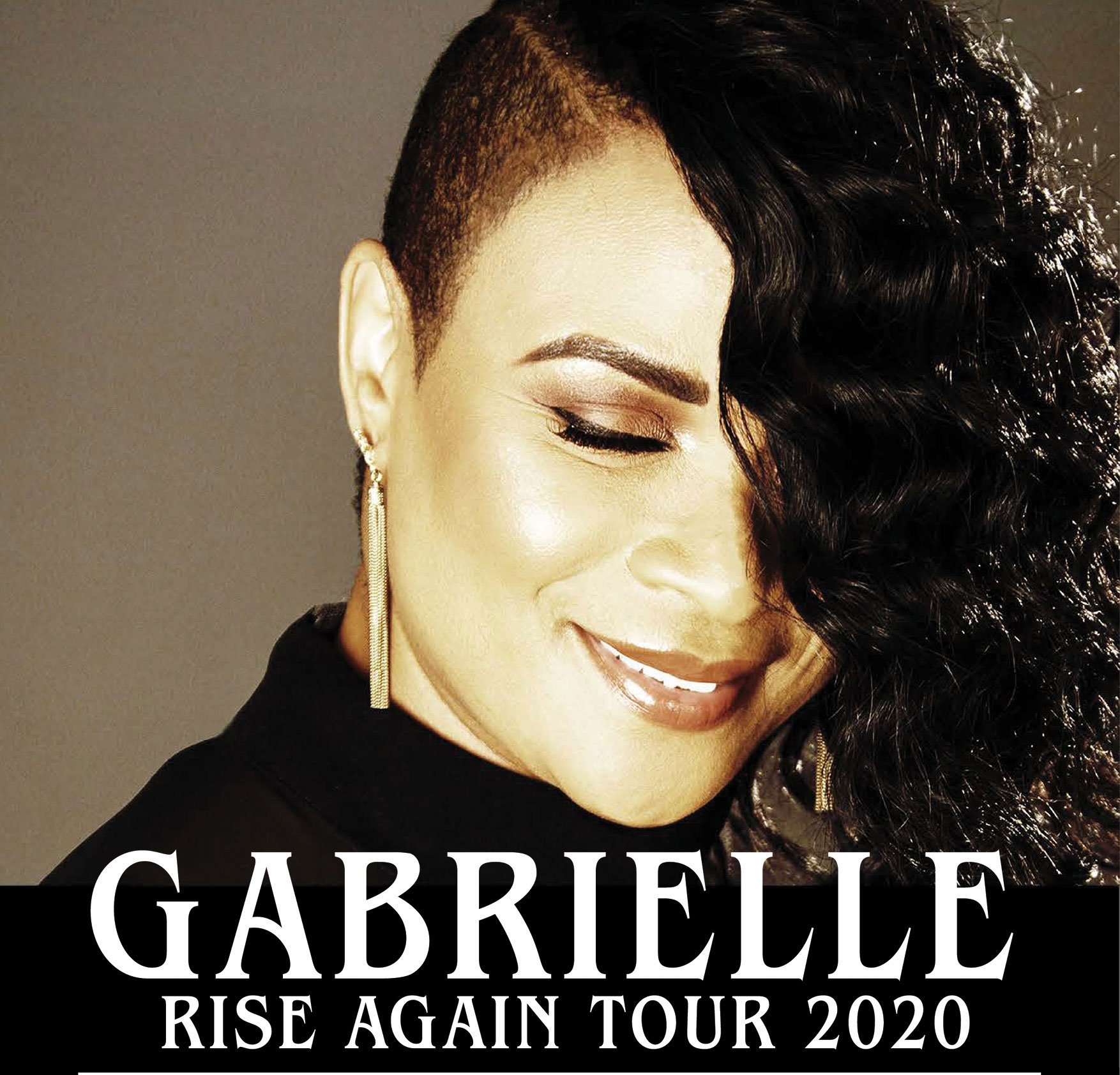 GABRIELLE brings the RISE AGAIN Tour 2020 to Ulster Hall, Belfast, Sunday 29 November