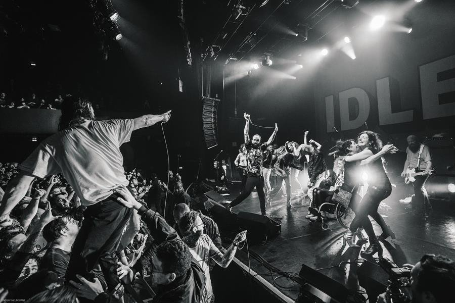 IDLES share a new live version of 'Television (Live at Le Bataclan)' from new live album